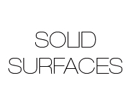 Solid Surface Materials for projects facade, office building, design or private housing.